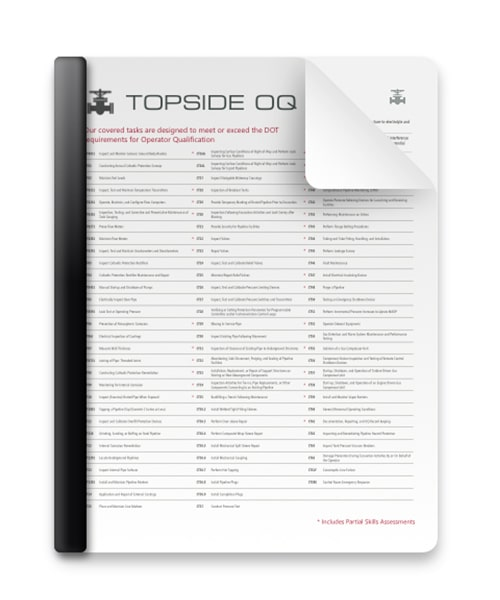 Topside Courses