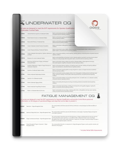 Underwater & FMS Courses
